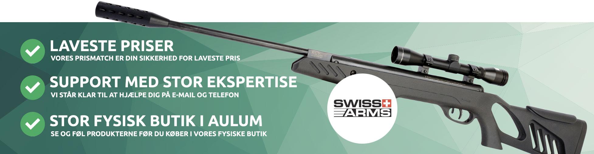 Swiss arms luftgevær
