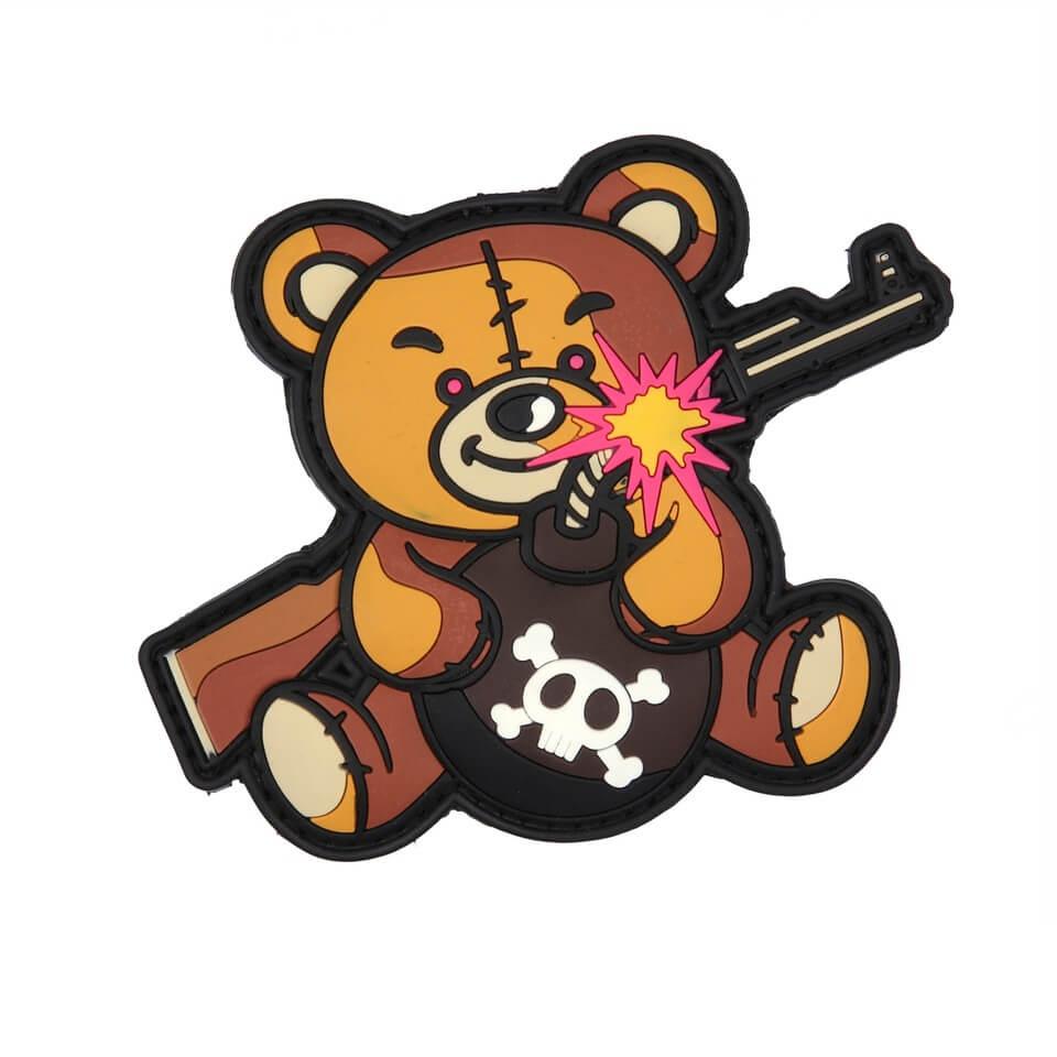 Patch Terror Teddy, Brun