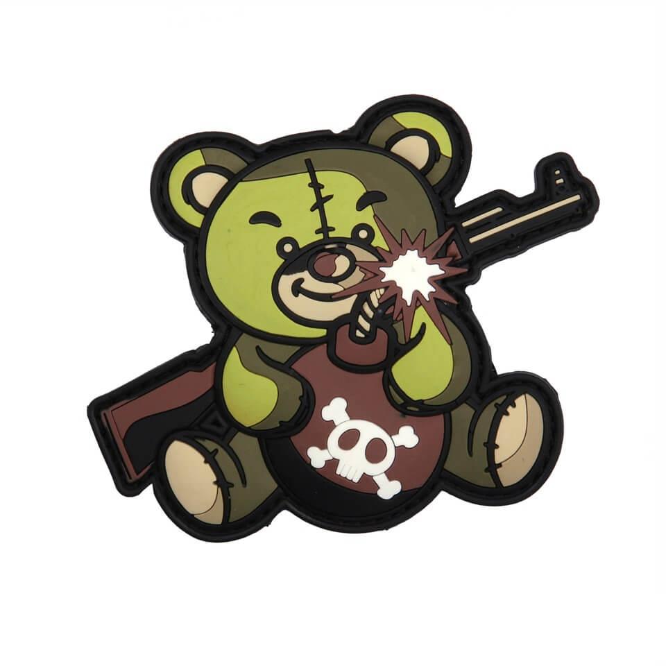 Patch Terror Teddy, Grøn