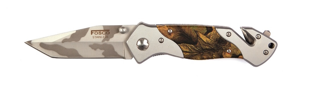Image of 101 Inc Camo Kniv, Woodland