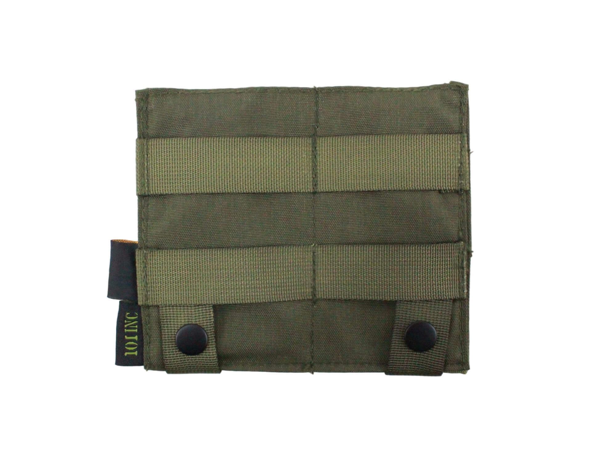 Image of   101Inc Elastisk dobbelt M4 lomme, Grøn