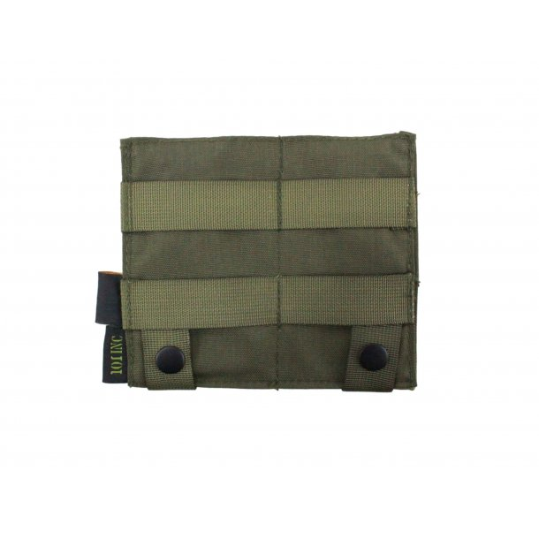 101Inc Elastisk dobbelt M4 lomme, Grøn