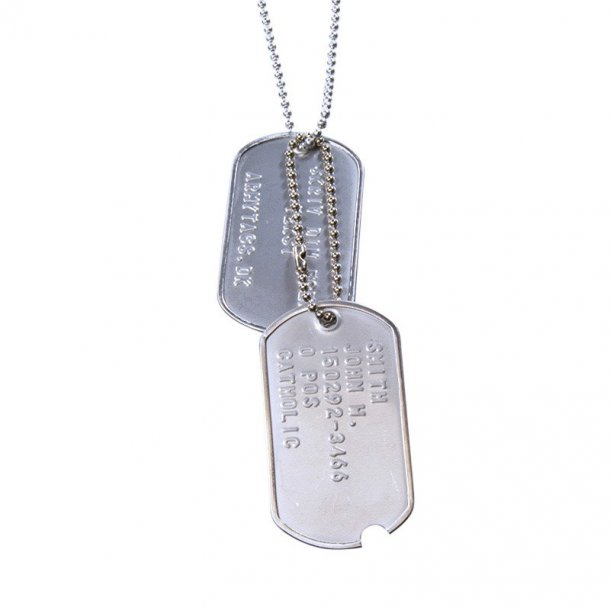 World War WWII Dogtags sæt
