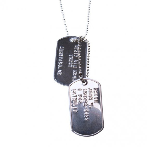 Shiny Dogtags set