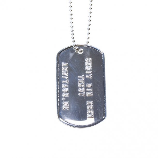 US Army DogTag, Silver
