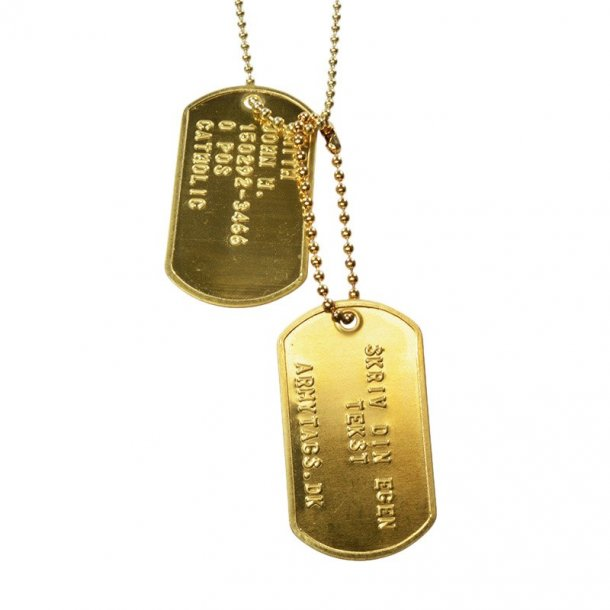 Messing Dogtags, Set