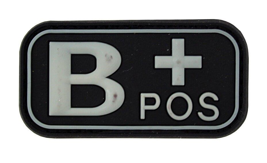 Image of   3D PVC Blod Type B+