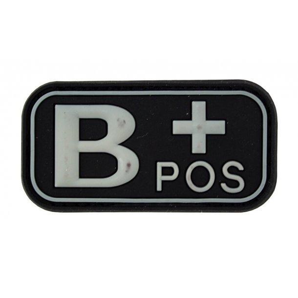 3D PVC Blod Type B+