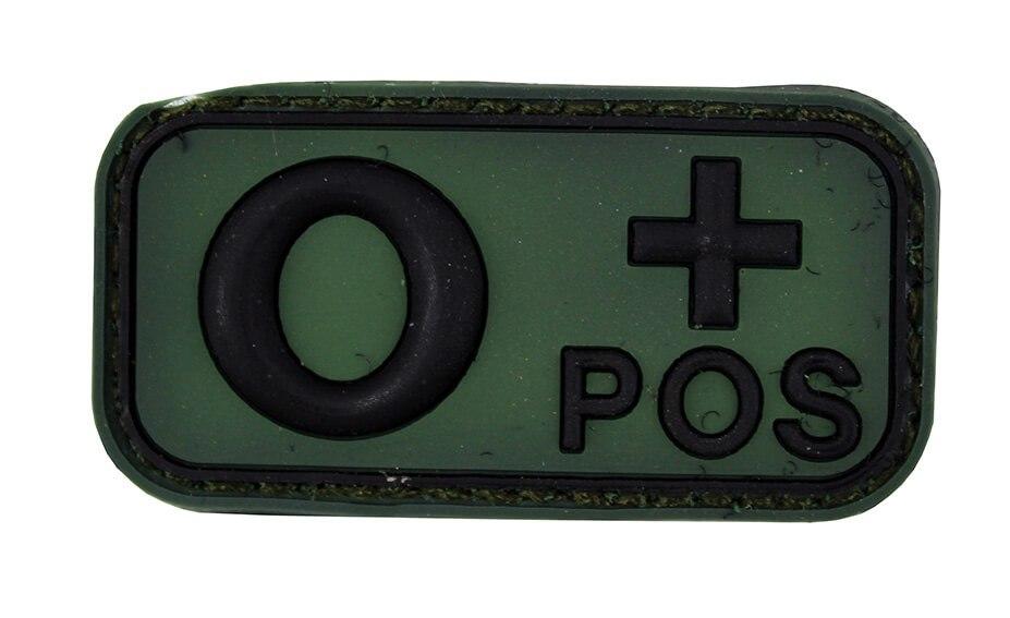 Image of   3D PVC Blod Type O+