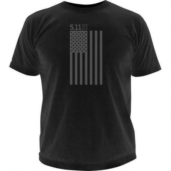 Image of 5.11 T-shirt, Tonal Stars & Stripes, str S