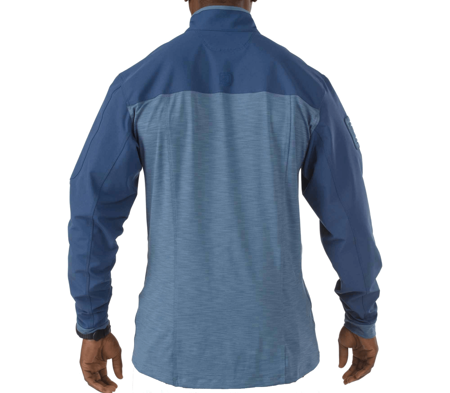 Image of   5.11 Rapid Response Q Zip Shirt, Blue Small