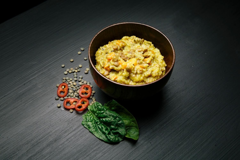 Real Turmat - Couscous med linser og spinat