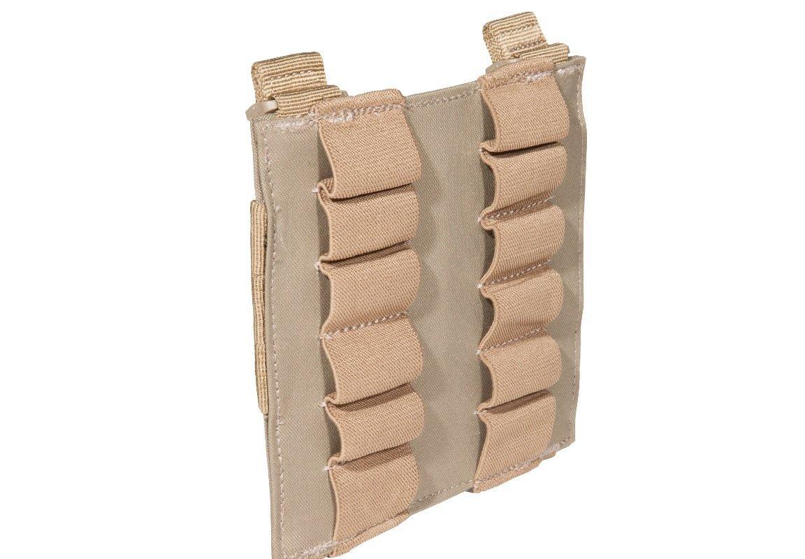 Patron ammuitionstaske, 12 patroner, Sand