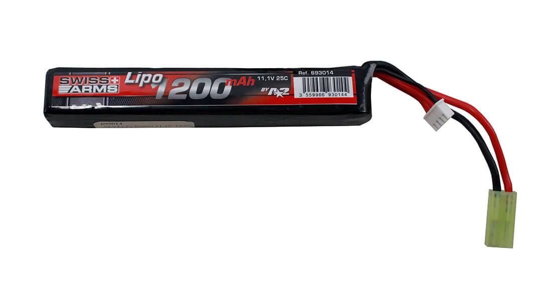 Image of A2A Li-Po Batteri 11,1V 1200mAh, 1 Celle