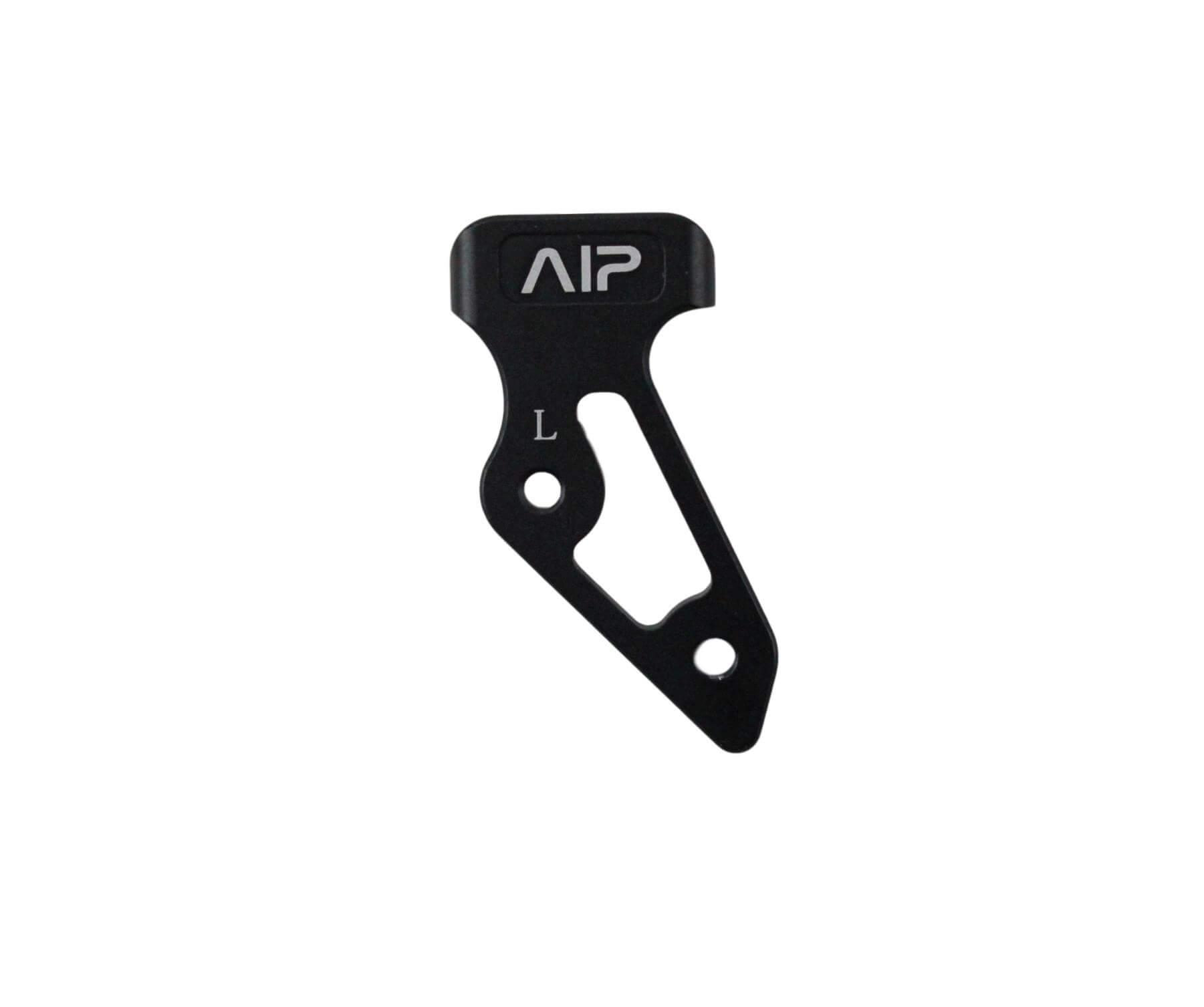 Image of AIP Aluminum skridsikker Thumb Rest, Sort Mat - stor