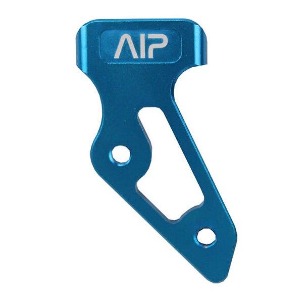 AIP Aluminum skridsikker Thumb Rest, blå - stor