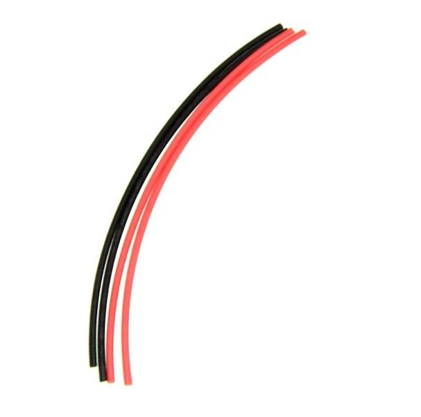 Image of Krympeflex 3mm, 0,5m rød og sort