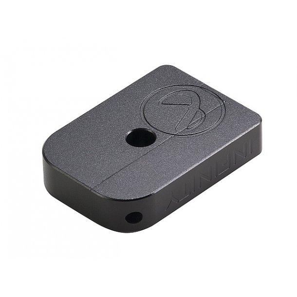 AIP CNC Infinity Puzzle Magasin base til Hi-capa, lille - sort