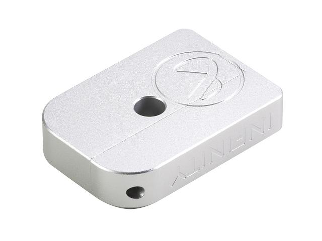 Image of AIP CNC Infinity Puzzle Magasin base til Hi-capa, lille - sølv