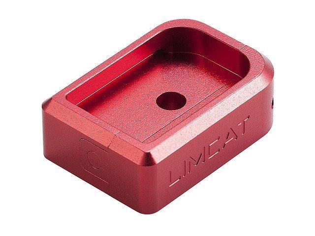AIP CNC Limcat Puzzle Magasin base til Hi-capa, stor - rød