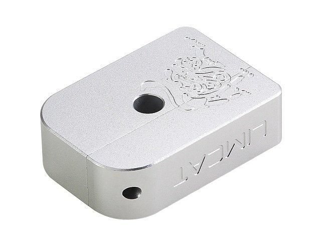 AIP CNC Limcat Puzzle Magasin base til Hi-capa, stor - sølv