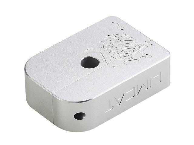 Image of AIP CNC Limcat Puzzle Magasin base til Hi-capa, stor - sølv