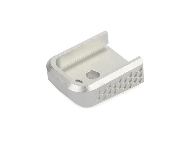 Image of AIP Prime aluminum Magasin Base Hi-Capa 5.1, sølv