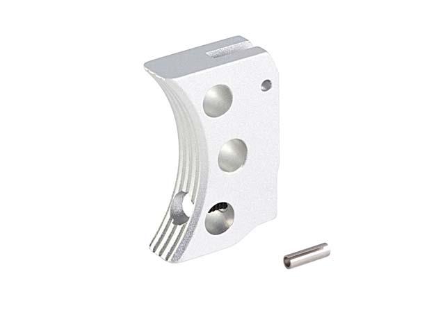 Image of AIP Aluminum Trigger, Type F til Hi-Capa, sølv - kort