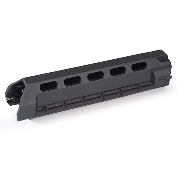 ARES M4 Frontsæt, 256 mm, sort