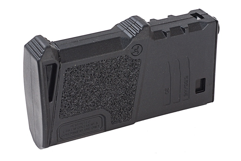 Magasin, M4, 120 skud, ARES Amoeba kort, sort