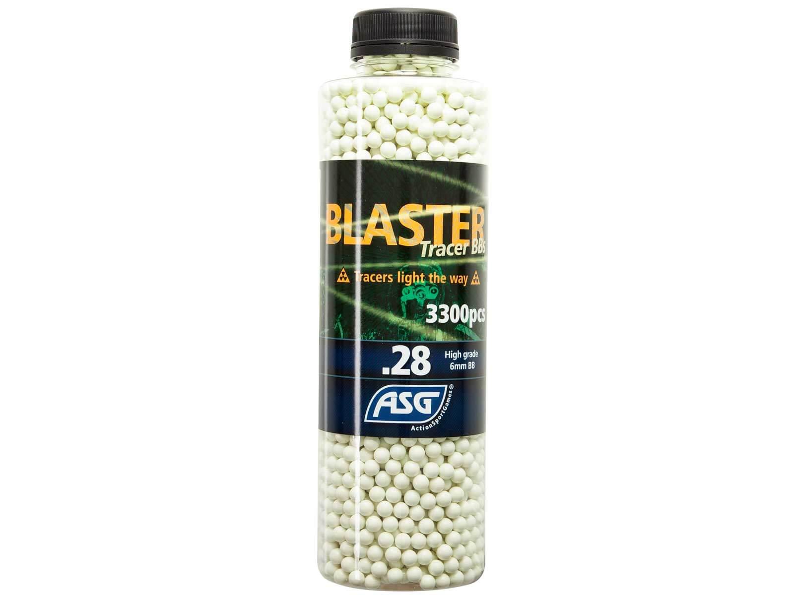 Image of   0,28g Tracer Kugler, Blaster, 3300 Stk, Grøn