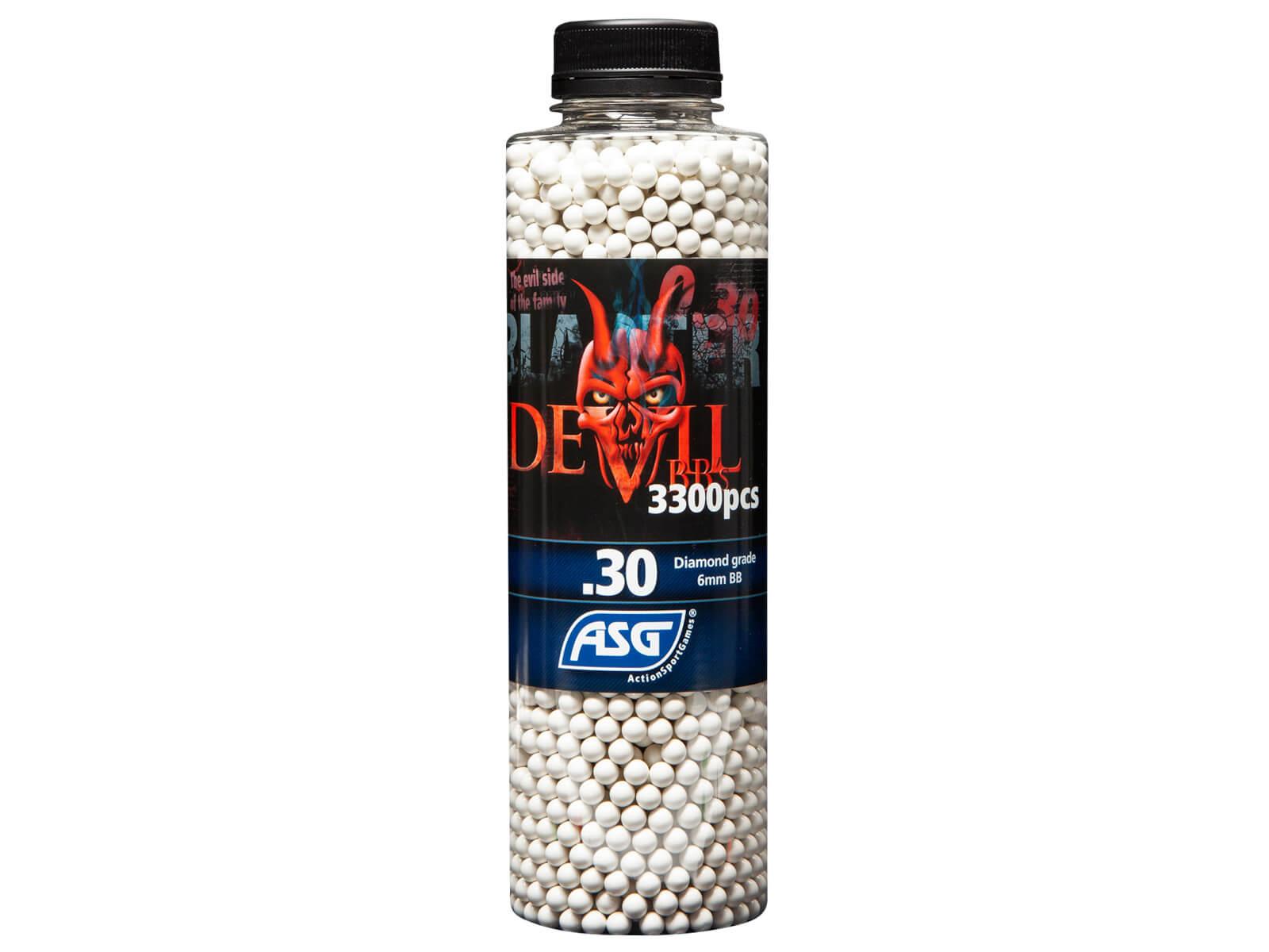 Image of Blaster Devil, 0,30g, 3300 stk, Hvid