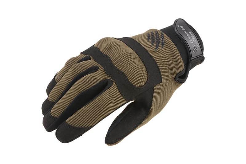 Handske, Armored Claw Shield Flex, Oliven Grøn XX-Large