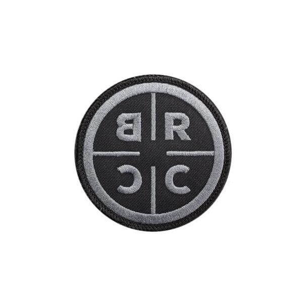 BRCC Patch, Sort/Sølv