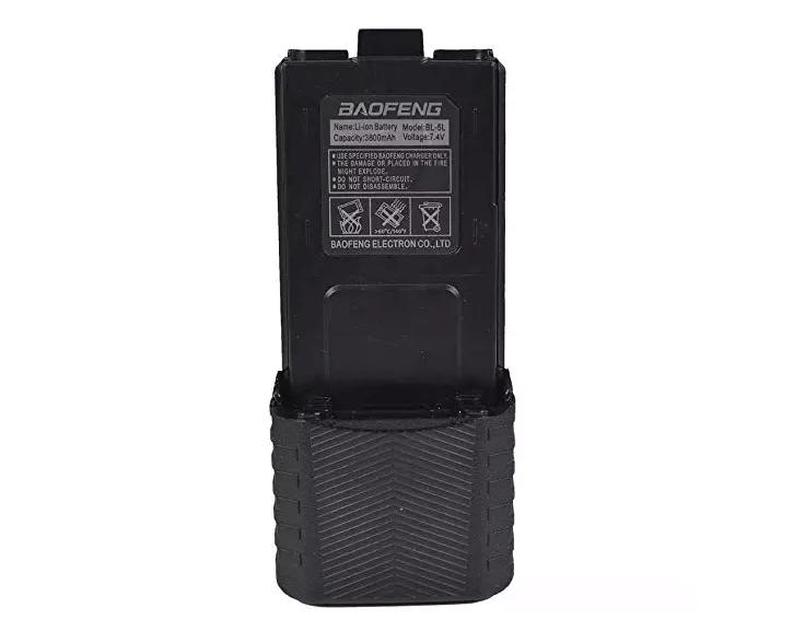 Image of Baofeng 3800 mAh batteri, Sort