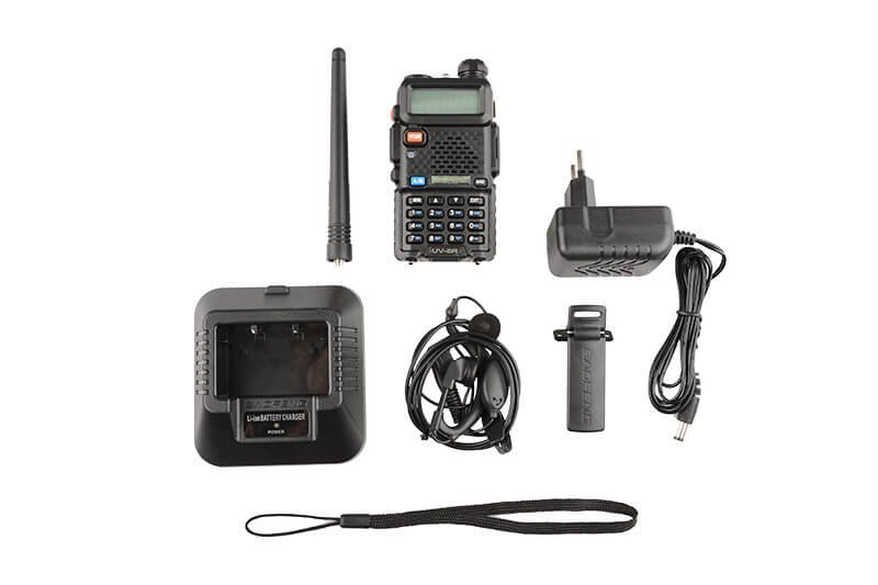 Baofeng UV-5R, Radio