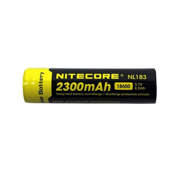 Batteri, 18650, 2300 mAh, Genopladelig
