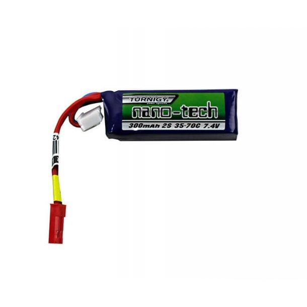 Batteri 7,4V 300mAh LiPO JST