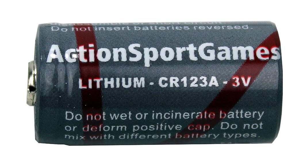 Batteri, CR123A