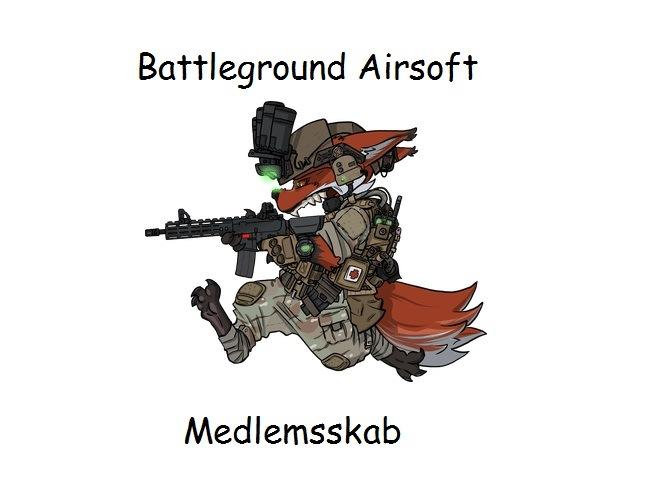 Battleground Airsoft 1 års Medlemsskab
