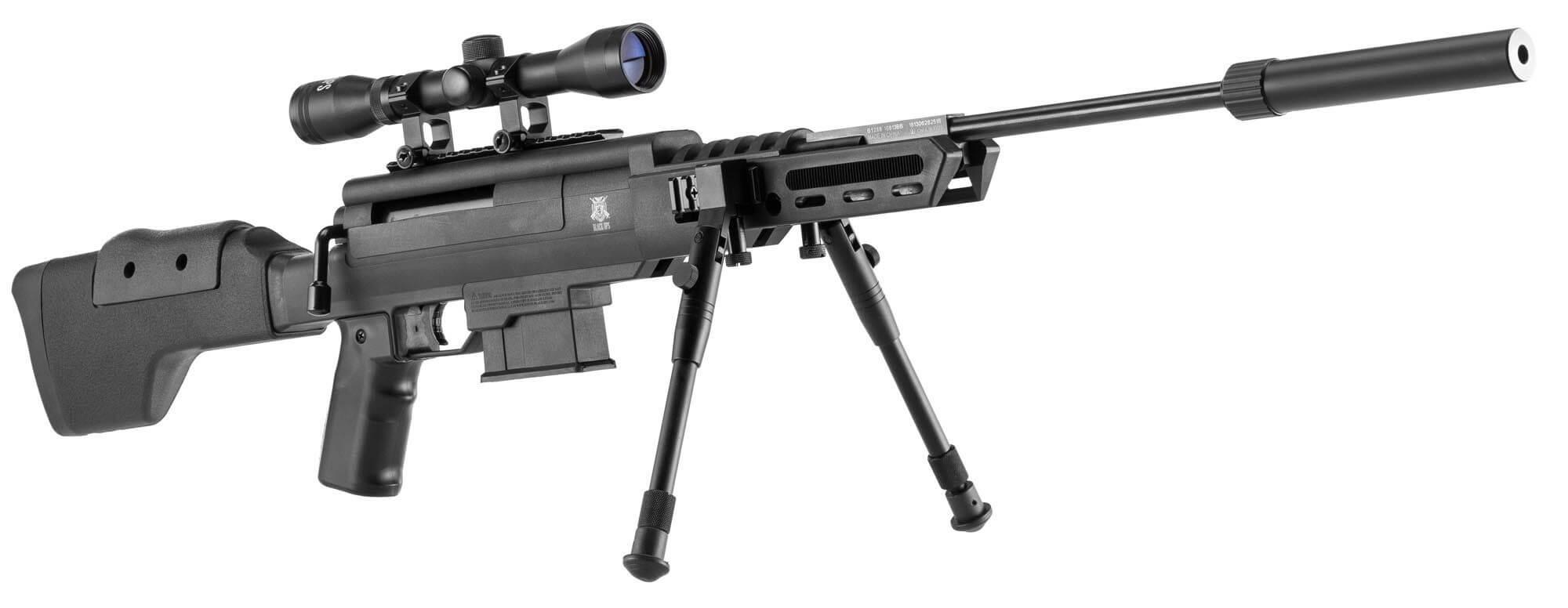 Image of   Black Ops Carabine Luftgevær 4,5 mm, Sort