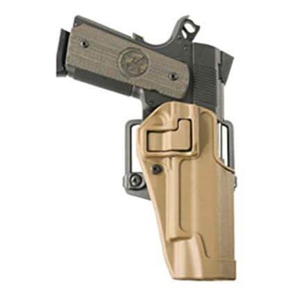 Blackhawk! Colt 1911 Serpa Hylster, Tan