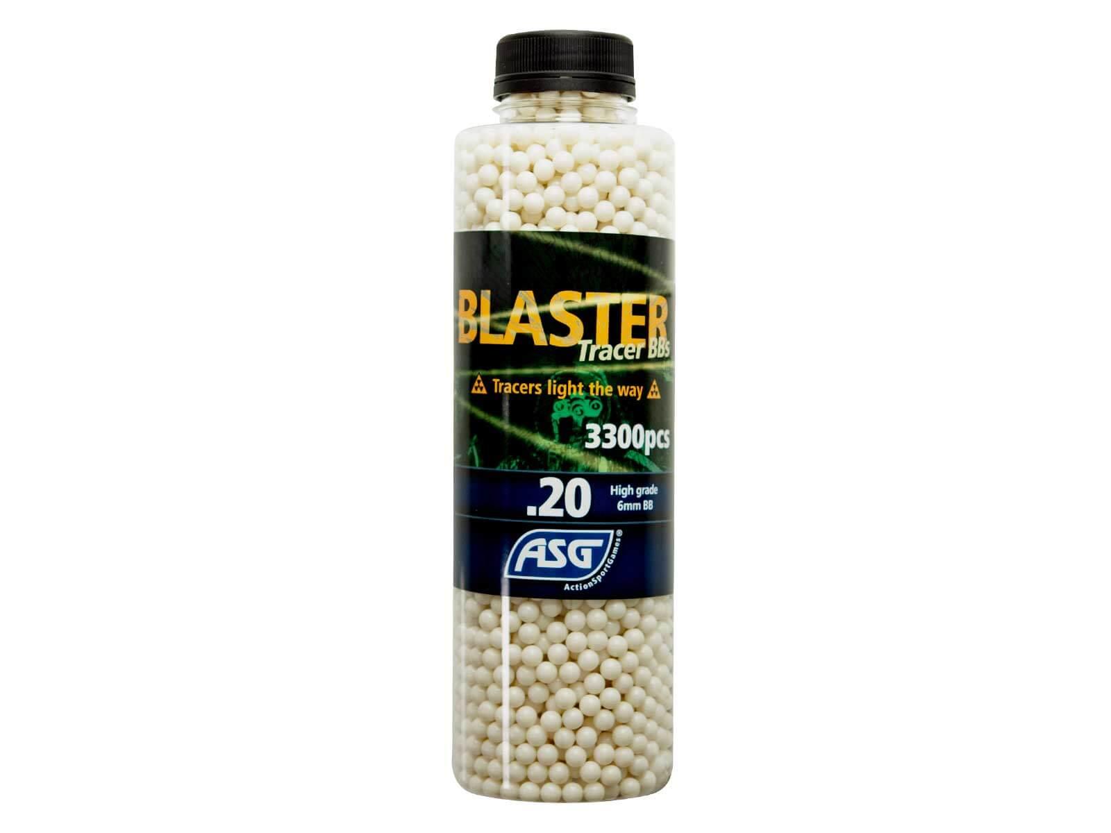 Image of   0,20g Tracer Kugler, Blaster, 3300 Stk, Grøn