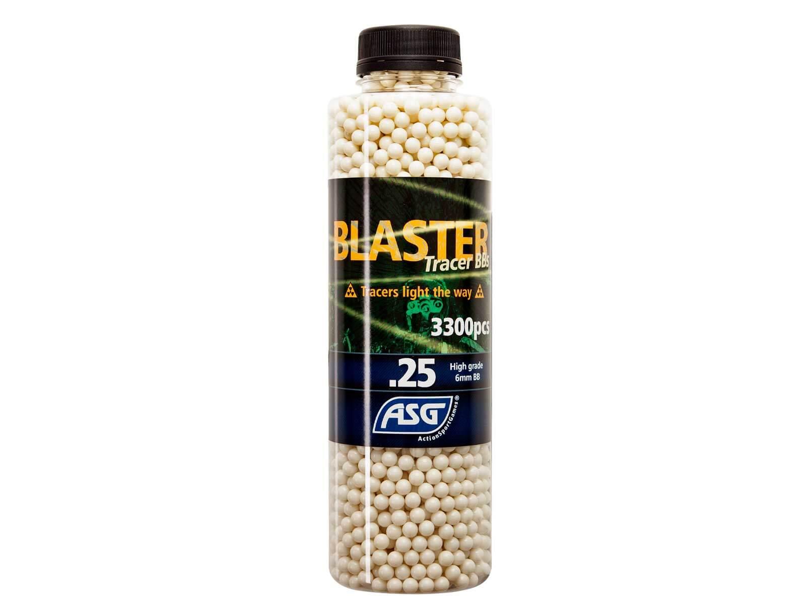 Image of   0,25g Tracer Kugler, Blaster, 3300 Stk, Grøn