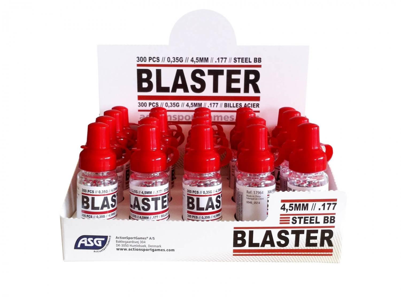 Blaster stålhagl, 300 stk, 4,5 mm (.177)