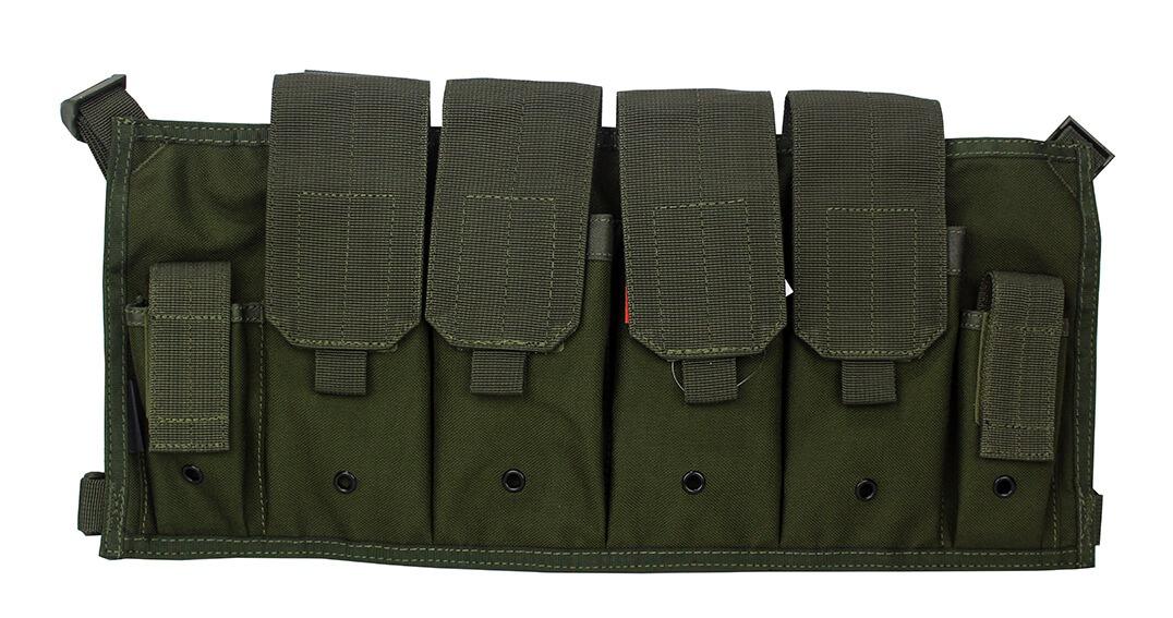 Bryst magasinvest, AK, M15 mfl., Grøn
