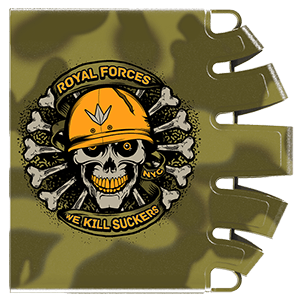 Bunker Kings tankbeskytter, Royal Forces, 0,8l