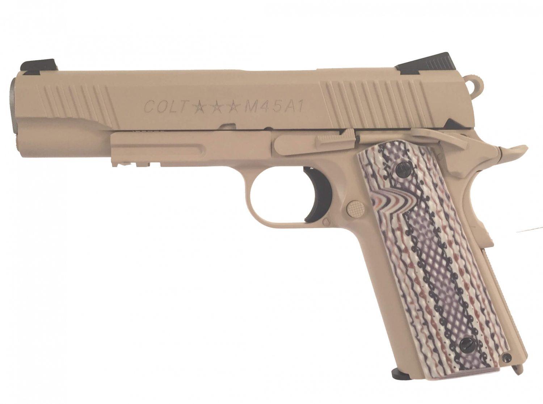 Billede af Colt 1911 M45A1 CO2, Tan