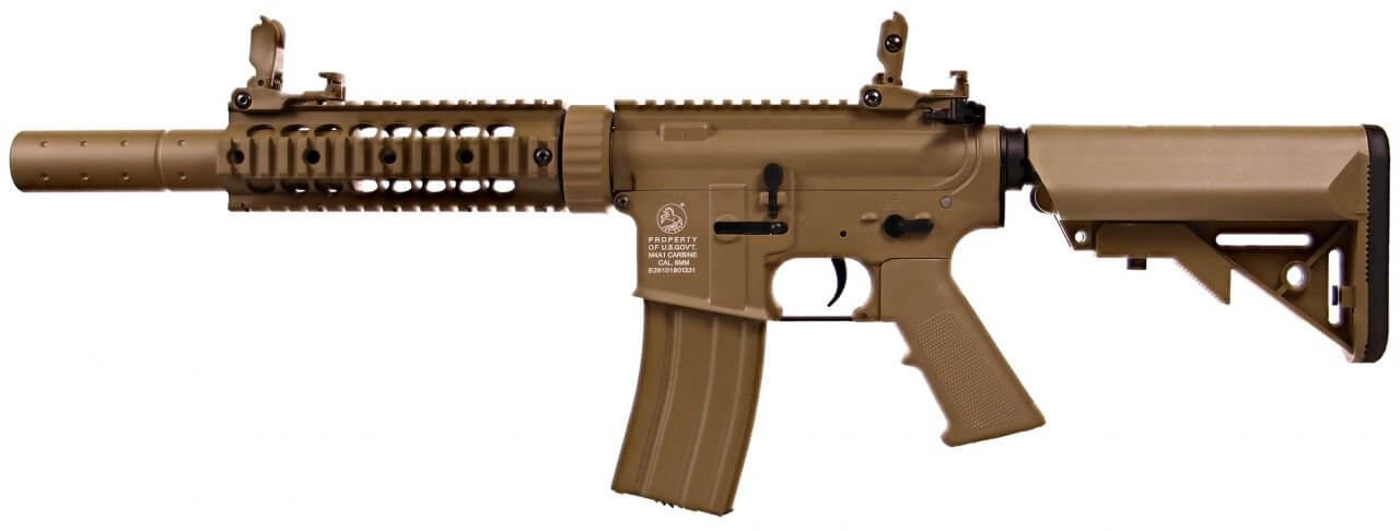 Image of   Cybergun Colt M4 Silent Ops, Tan
