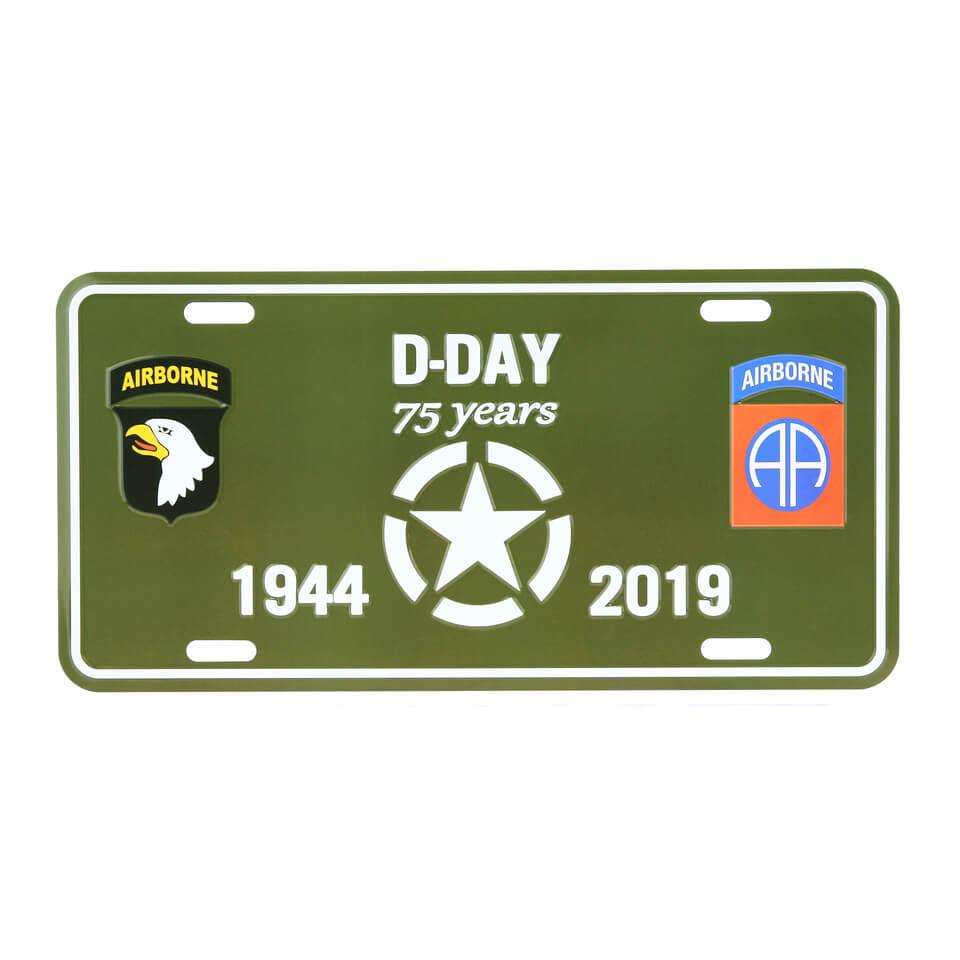 Image of D-dag nummerplade